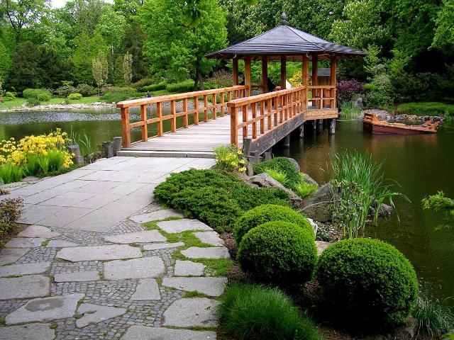 восточный стиль в ландшафтном дизайне